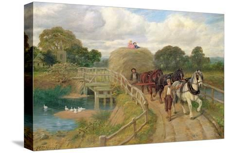 The Last Load-Philip Richard Morris-Stretched Canvas Print