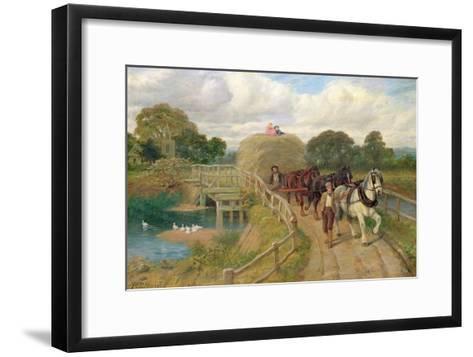 The Last Load-Philip Richard Morris-Framed Art Print