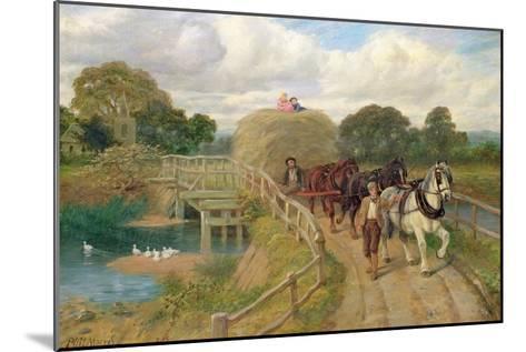 The Last Load-Philip Richard Morris-Mounted Giclee Print