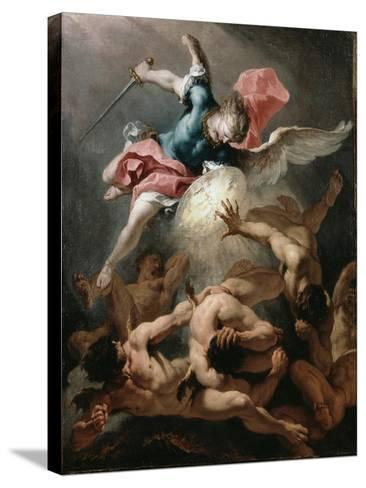 The Fall of the Rebel Angels, C.1720-Sebastiano Ricci-Stretched Canvas Print