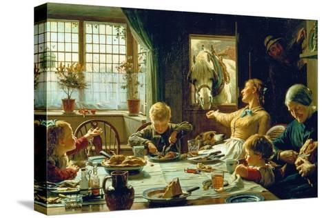 One of the Family, 1880-Frederick George Cotman-Stretched Canvas Print