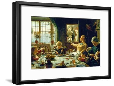 One of the Family, 1880-Frederick George Cotman-Framed Art Print