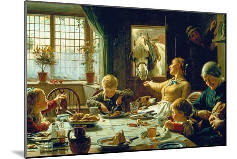 One of the Family, 1880-Frederick George Cotman-Mounted Giclee Print
