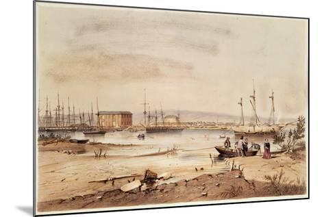 Port Adelaide, from the 'South Australia Illustrated', 1846-George French Angas-Mounted Giclee Print