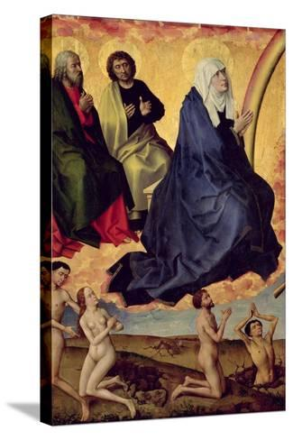 The Virgin Interceding for Mankind, Detail from the Last Judgement, C. 1451-Rogier van der Weyden-Stretched Canvas Print
