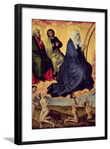 The Virgin Interceding for Mankind, Detail from the Last Judgement, C. 1451-Rogier van der Weyden-Framed Art Print