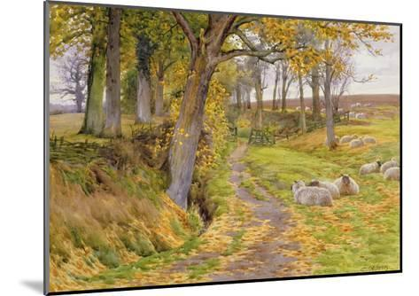 An Autumn Afternoon-Charles James Adams-Mounted Giclee Print
