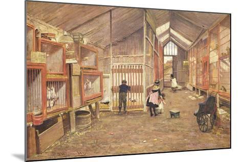 Strawberry Gardens-John Houghton Hague-Mounted Giclee Print