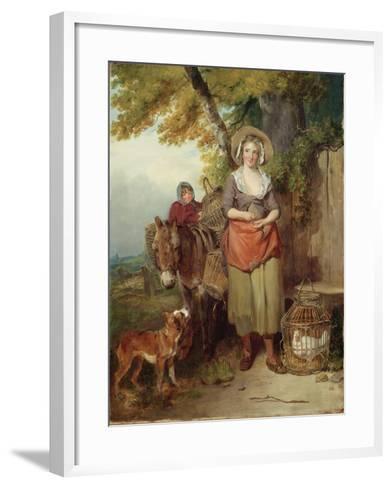 The Return from Market, 1786-Francis Wheatley-Framed Art Print