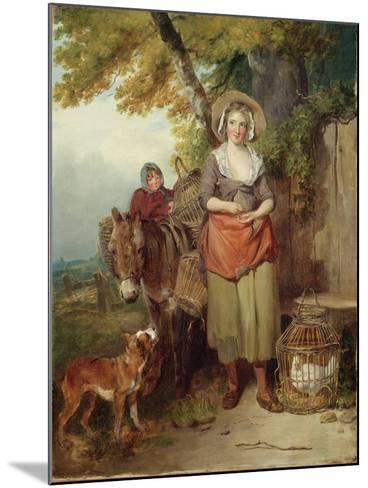 The Return from Market, 1786-Francis Wheatley-Mounted Giclee Print