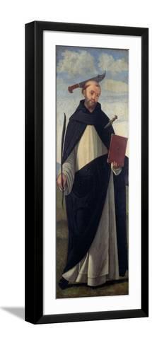 Saint Peter Martyr-Vittore Carpaccio-Framed Art Print