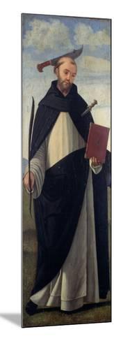 Saint Peter Martyr-Vittore Carpaccio-Mounted Giclee Print