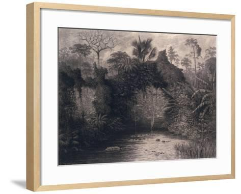 View of the Gulf of Biafra, West Africa, 1877-Emma Sandys-Framed Art Print