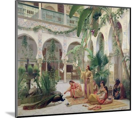 The Court of the Harem-Albert Girard-Mounted Giclee Print