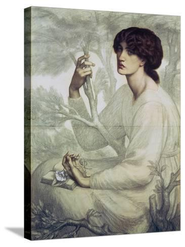 The Day Dream, 19th Century-Dante Gabriel Rossetti-Stretched Canvas Print