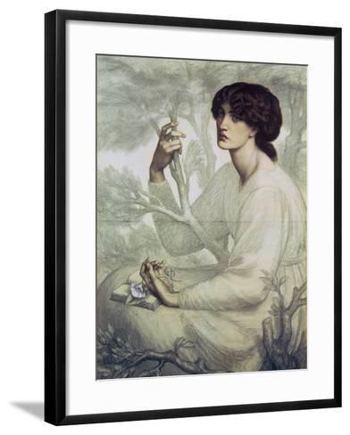 The Day Dream, 19th Century-Dante Gabriel Rossetti-Framed Art Print