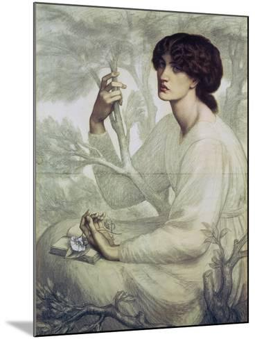The Day Dream, 19th Century-Dante Gabriel Rossetti-Mounted Giclee Print