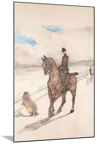 The Amazon, C.1899-Henri de Toulouse-Lautrec-Mounted Giclee Print