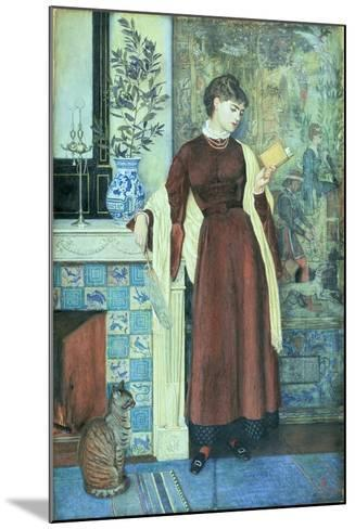 At Home: a Portrait, 1872-Walter Crane-Mounted Giclee Print