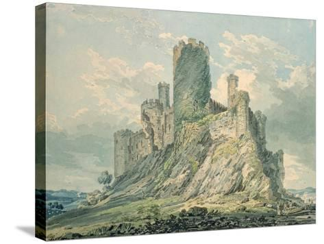 Conway Castle, 18th Century-Thomas Girtin-Stretched Canvas Print