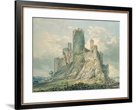 Conway Castle, 18th Century-Thomas Girtin-Framed Art Print