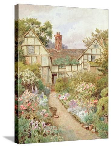 Cottage Garden-Thomas Nicholson Tyndale-Stretched Canvas Print