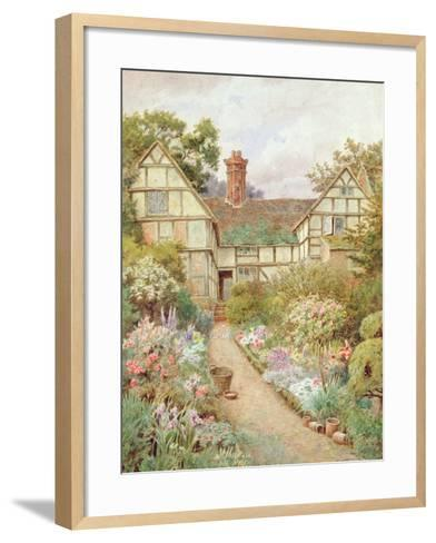 Cottage Garden-Thomas Nicholson Tyndale-Framed Art Print