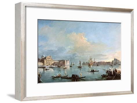 San Giorgio Maggiore-Francesco Guardi-Framed Art Print