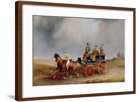 Going Shooting; a Postillion and Pair with a Game Cart-Charles Cooper Henderson-Framed Art Print