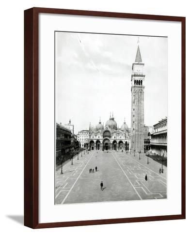 View of Piazza S. Marco 1880-1920--Framed Art Print