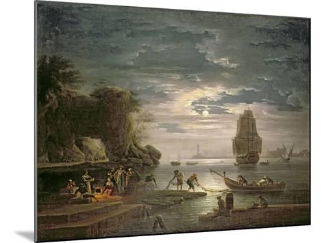 The Night-Claude Joseph Vernet-Mounted Giclee Print