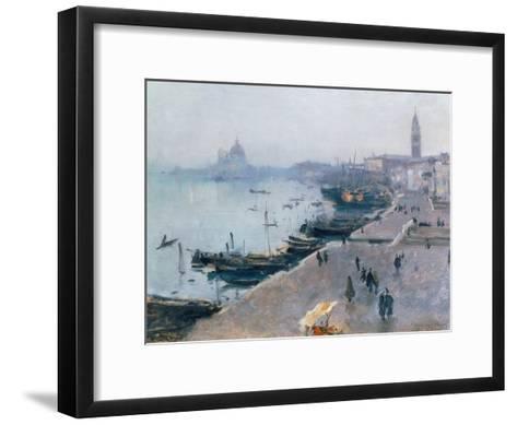 Venice in Grey Weather-John Singer Sargent-Framed Art Print