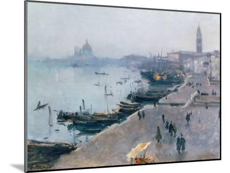 Venice in Grey Weather-John Singer Sargent-Mounted Giclee Print