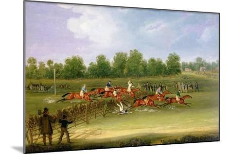 St Albans Tally-Ho Stakes, May 22nd 1834-James Pollard-Mounted Giclee Print