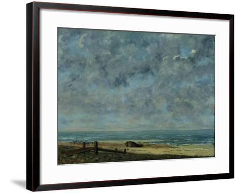 View of Olevano-Jean-Baptiste-Camille Corot-Framed Art Print