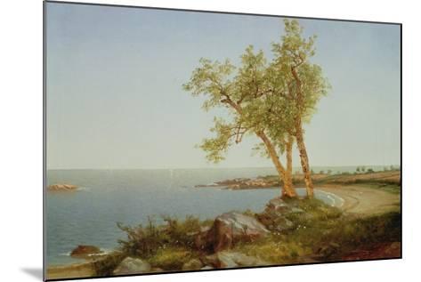 Rhode Island Coast, New England-John Frederick Kensett-Mounted Giclee Print