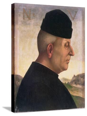 Portrait of Niccolo Vitelli (1414-86)-Luca Signorelli-Stretched Canvas Print
