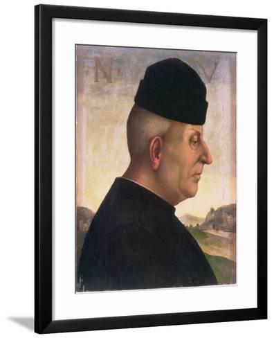 Portrait of Niccolo Vitelli (1414-86)-Luca Signorelli-Framed Art Print