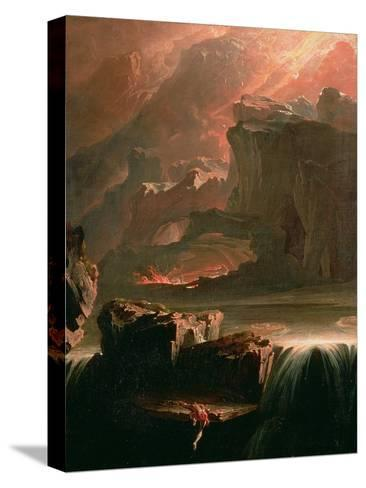 Sadak in Search of the Waters of Oblivion, 1812-John Martin-Stretched Canvas Print