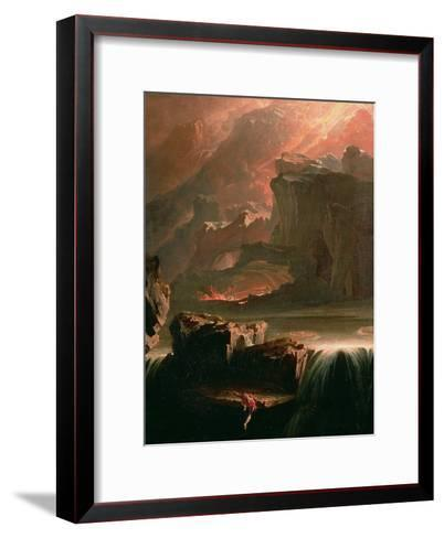 Sadak in Search of the Waters of Oblivion, 1812-John Martin-Framed Art Print