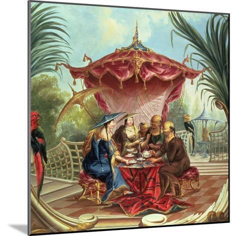 Chinese Tea-Jacques Vigoureux Duplessis-Mounted Giclee Print