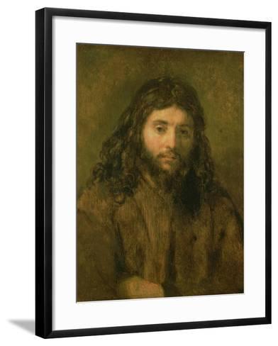 Christ, C.1656-Rembrandt van Rijn-Framed Art Print
