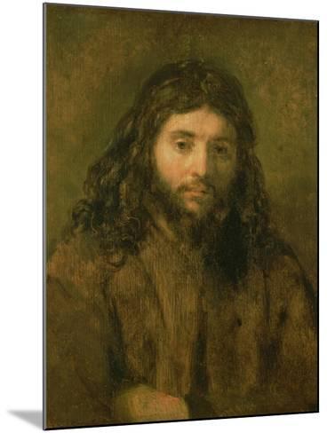 Christ, C.1656-Rembrandt van Rijn-Mounted Giclee Print