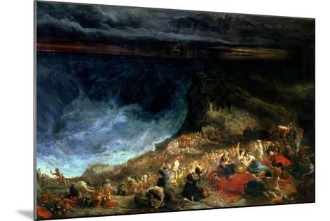 The Delivery of Israel - Pharaoh and His Hosts Overwhelmed in the Red Sea, 1825-Francis Danby-Mounted Giclee Print