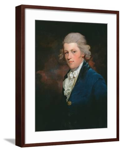 Portrait of Charles Lennox, 4th Duke of Richmond (1764-1819) C.1790-John Hoppner-Framed Art Print