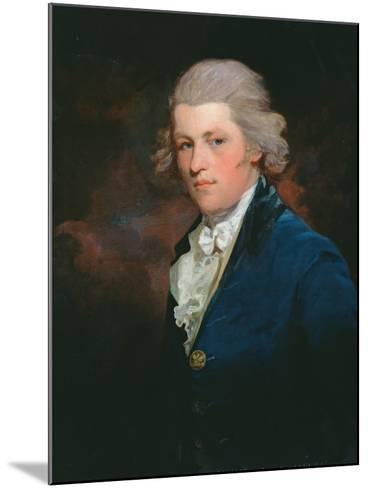 Portrait of Charles Lennox, 4th Duke of Richmond (1764-1819) C.1790-John Hoppner-Mounted Giclee Print