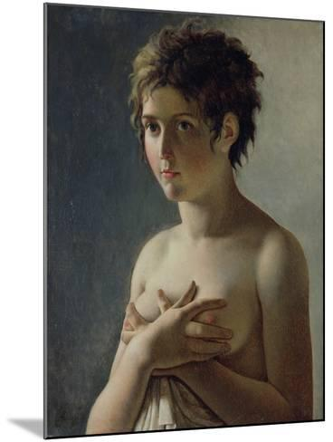 Portrait of a Young Girl, 1812-Baron Pierre-Narcisse Guerin-Mounted Giclee Print