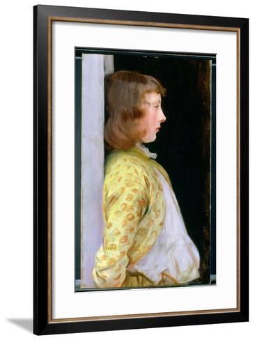 Portrait of Dorothy Barnard, 1889-John Singer Sargent-Framed Art Print