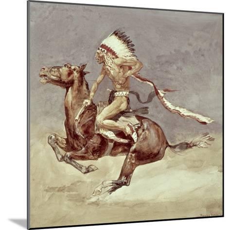 Pony War Dance-Frederic Sackrider Remington-Mounted Giclee Print