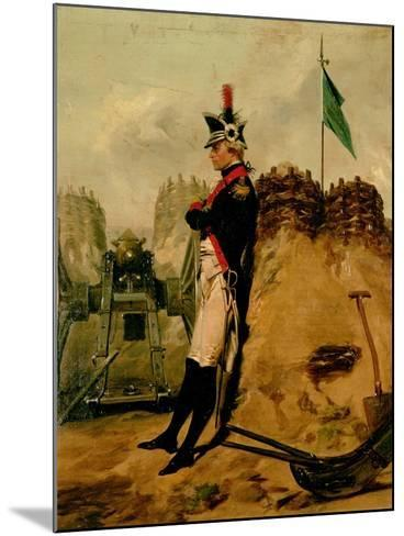 Alexander Hamilton (1757-1804) in the Uniform of the New York Artillery-Alonzo Chappel-Mounted Giclee Print